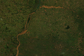 Floods in Southern Brazil - selected image