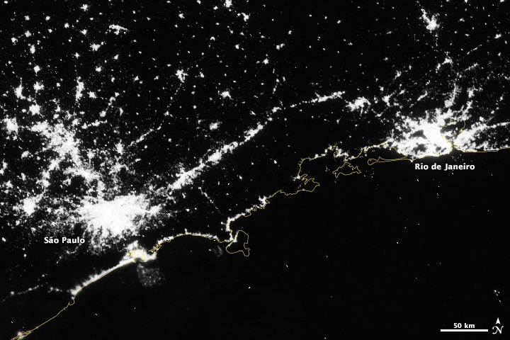 Brazil at Night - related image preview