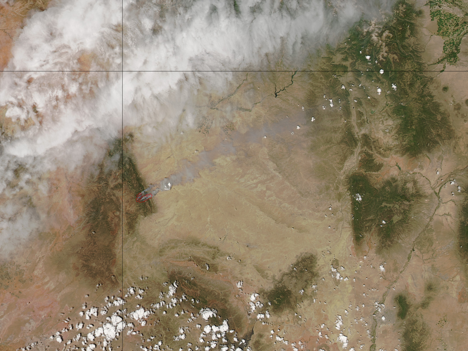 Assayii Lake Fire, New Mexico - related image preview