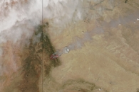 Assayii Lake Fire, New Mexico