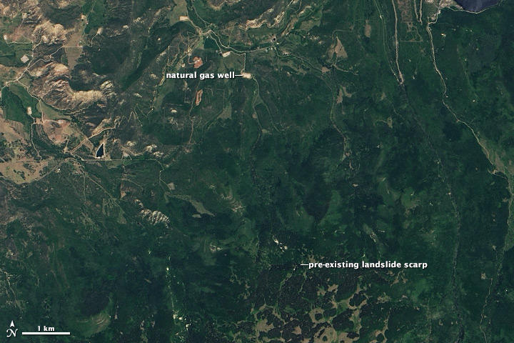 Mudslide Near Collbran, Colorado - related image preview