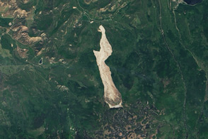 Mudslide Near Collbran, Colorado - selected image
