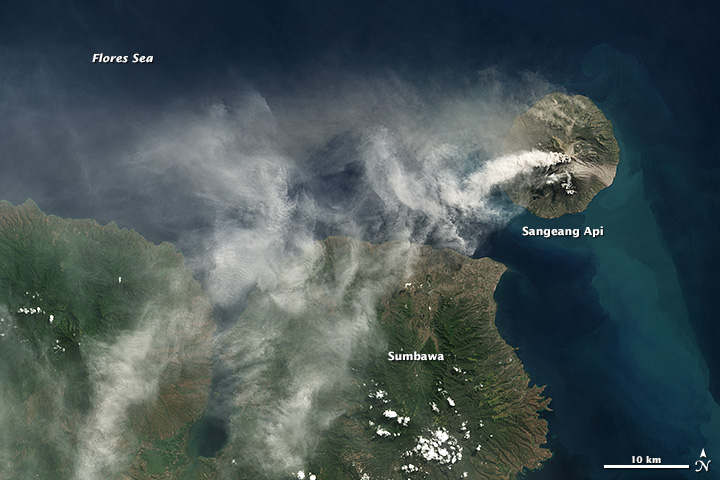 Sangeang Api Eruption