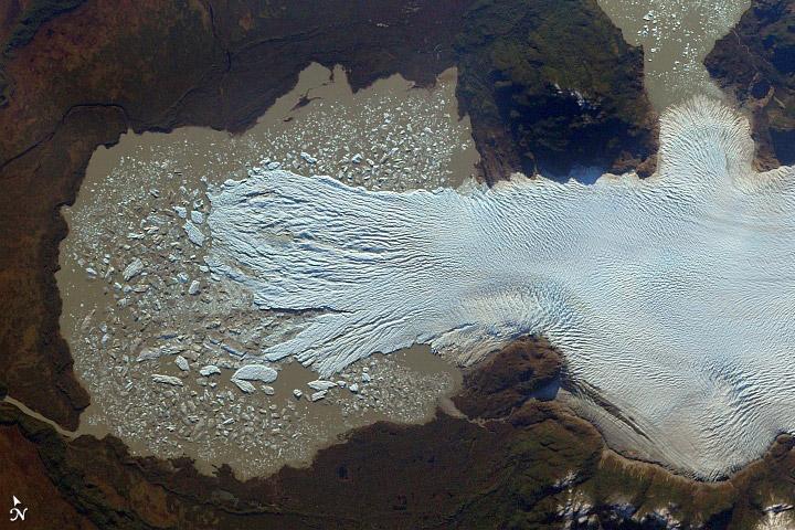 Glaciar San Quintín, Chilé