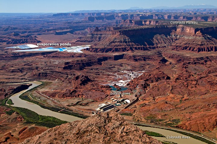Potash Mine Near Moab, Utah - related image preview