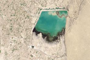 Hanhowuz Reservoir, Turkmenistan