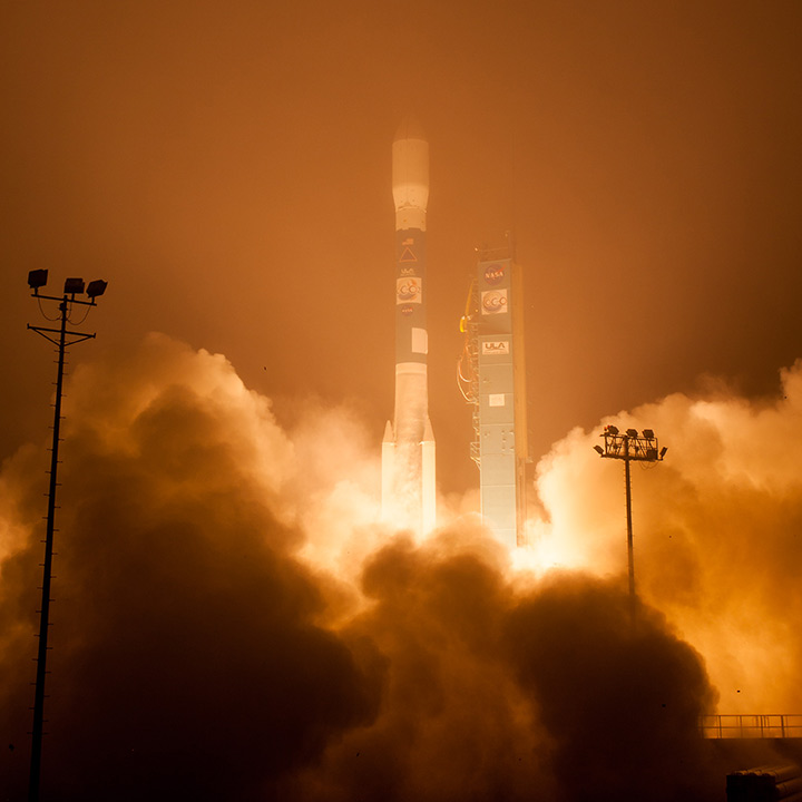 OCO-2 Lifts Off