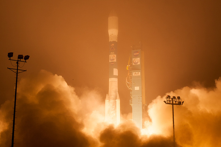 OCO-2 Lifts Off - related image preview