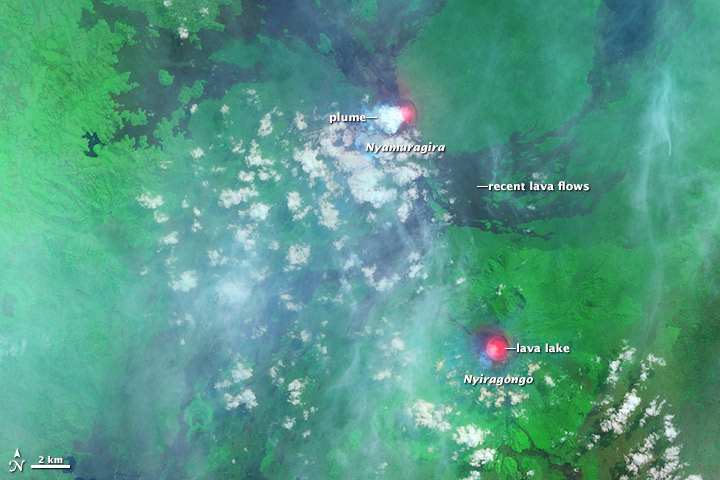 Nyamuragira Volcano Erupts - related image preview