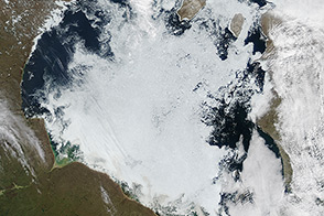 Ice Breakup on Hudson Bay