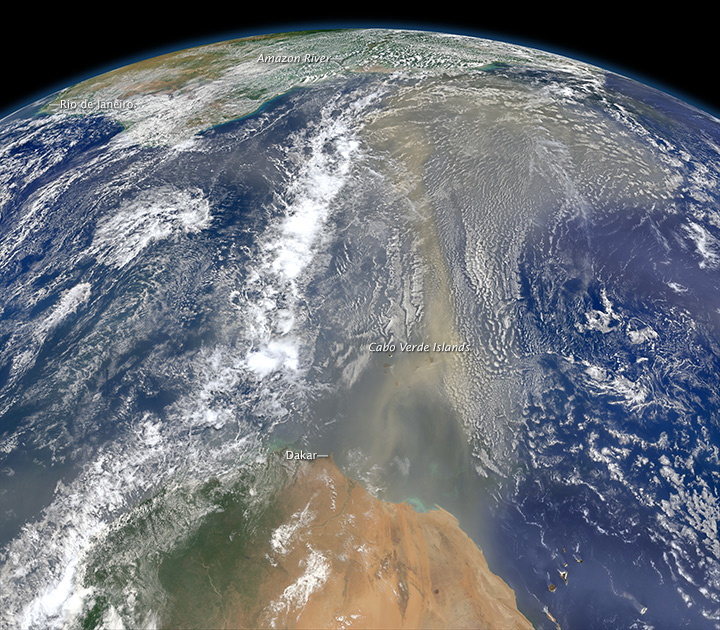 Saharan Dust on the Move - related image preview