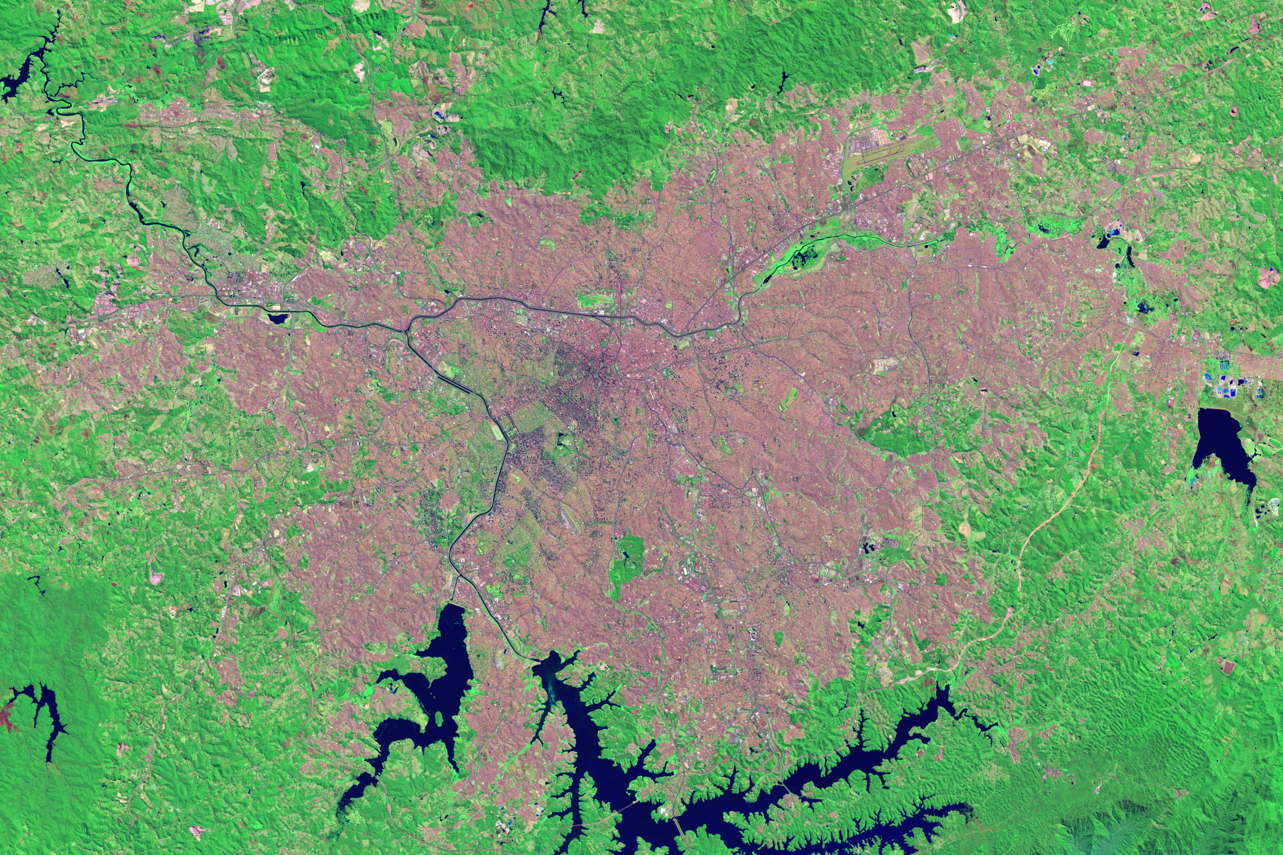 Growth of São Paulo, Brazil - related image preview