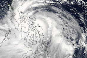 Typhoon Rammasun Drenches Philippines - selected image