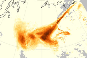 Tracing Aerosols to their Smoky and Sandy Sources - selected image
