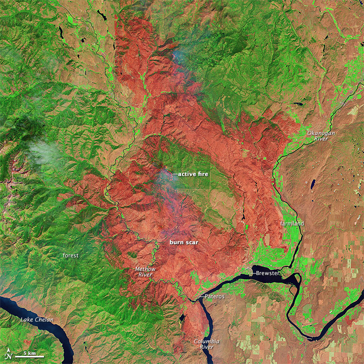 Spokane Complex Fire Map.U S Wildfire Season As Of August 12th Weather Extremes