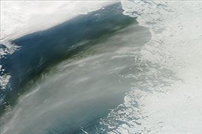 Long Smoke Stream over Siberia