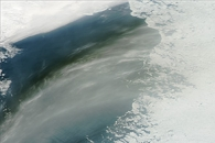 Long Smoke Stream over Siberia