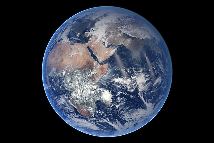 Blue Marble, Eastern Hemisphere