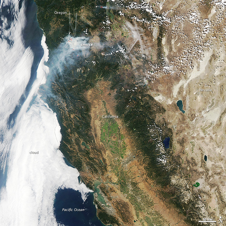 Fires in California