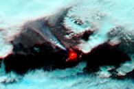 Infrared Views of Bardarbunga