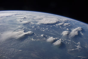 Thunderstorms over Borneo - selected image