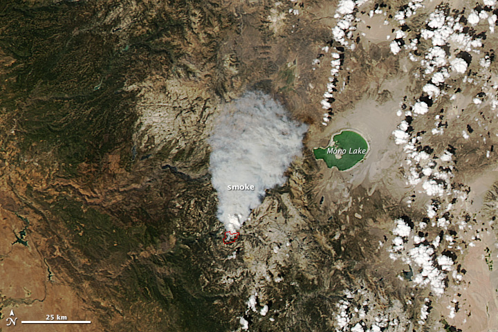 Smoke in Yosemite