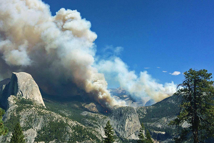 Smoke in Yosemite