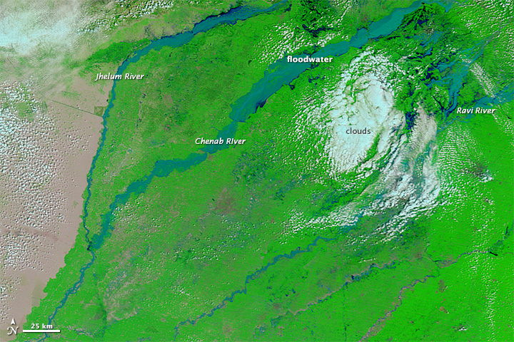 Severe Flooding in Northern Pakistan