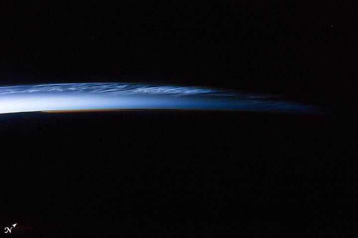 Polar Mesospheric Clouds, Russia
