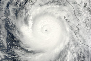 Hurricane Odile - selected image
