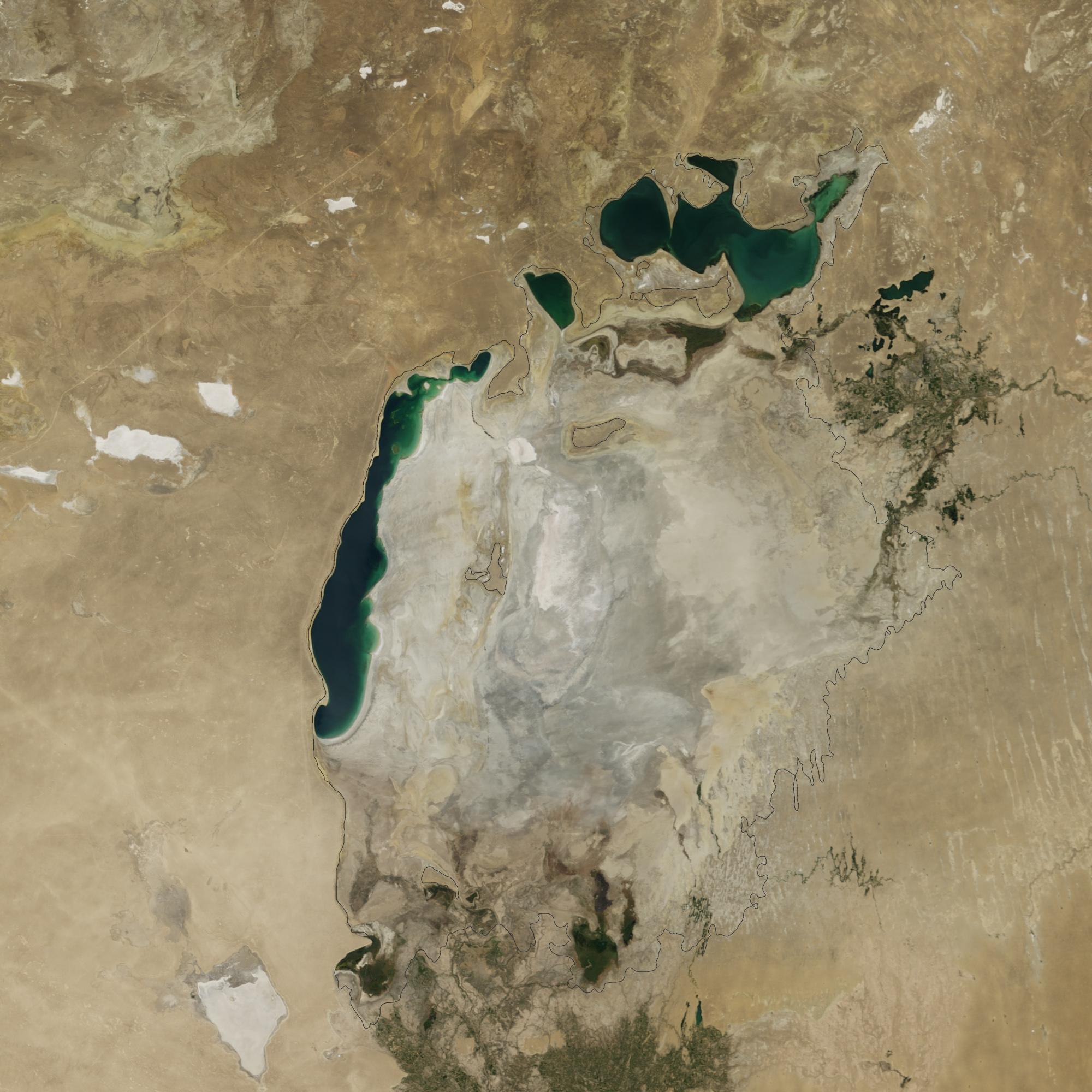 Ал сол кезде...: Үлкен Аралдың шығыс бөлігі неліктен кеуіп қалды?