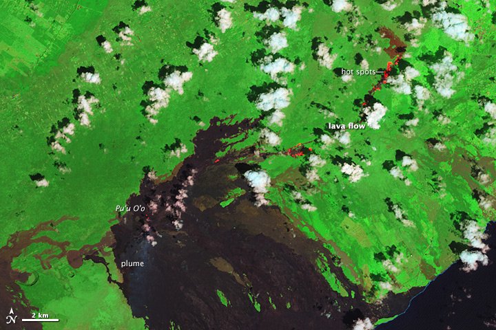 Kilauea's June 27 Lava Flow - related image preview