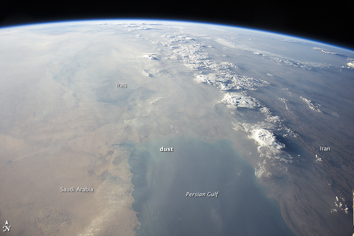 The Persian Gulf, Clear and Clouded