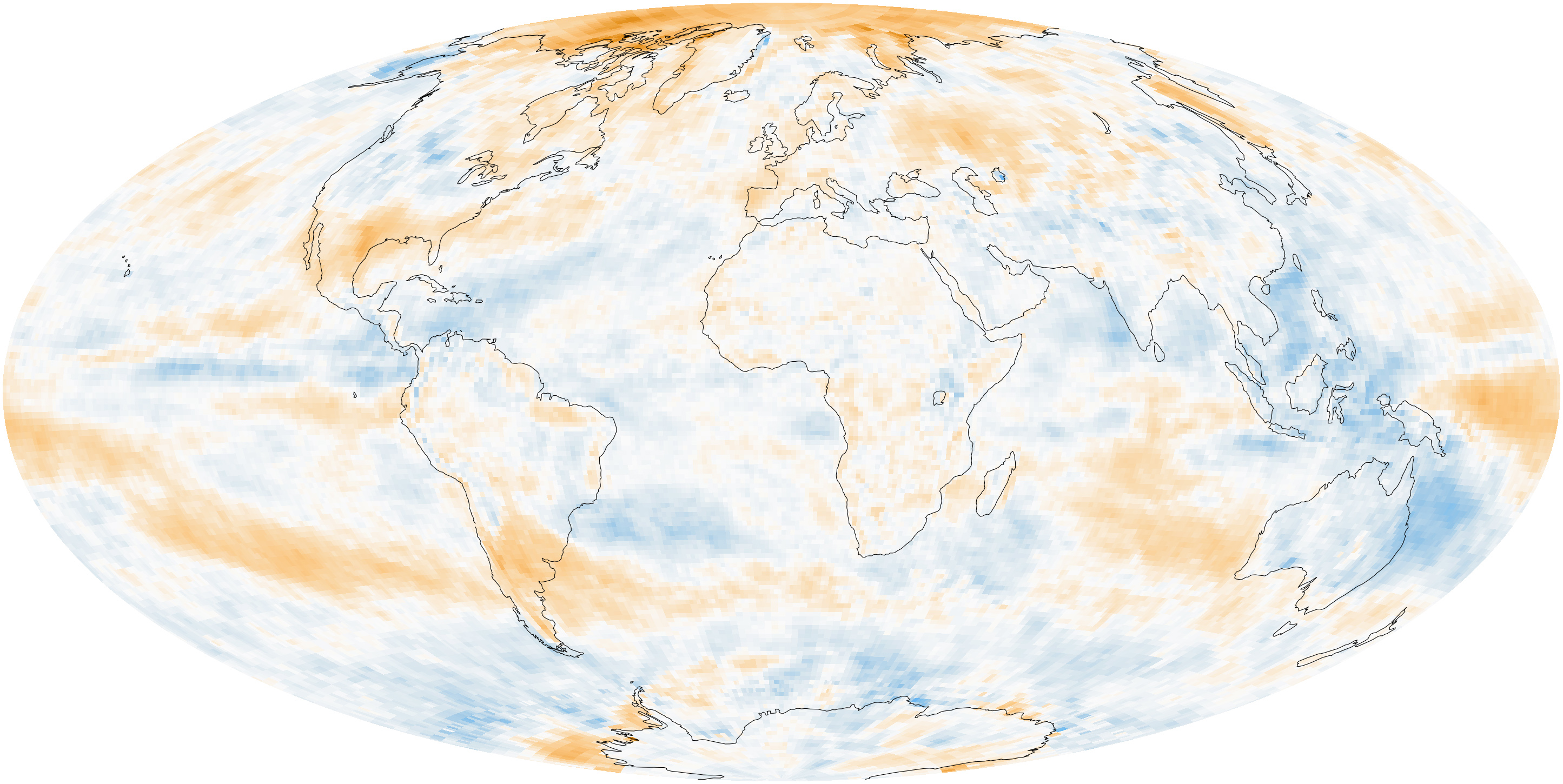 Measuring Earth's Albedo on four regions of earth, three regions of earth, difference in temperatures on earth,