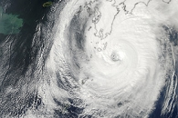 Typhoon Phanfone Nears Japan