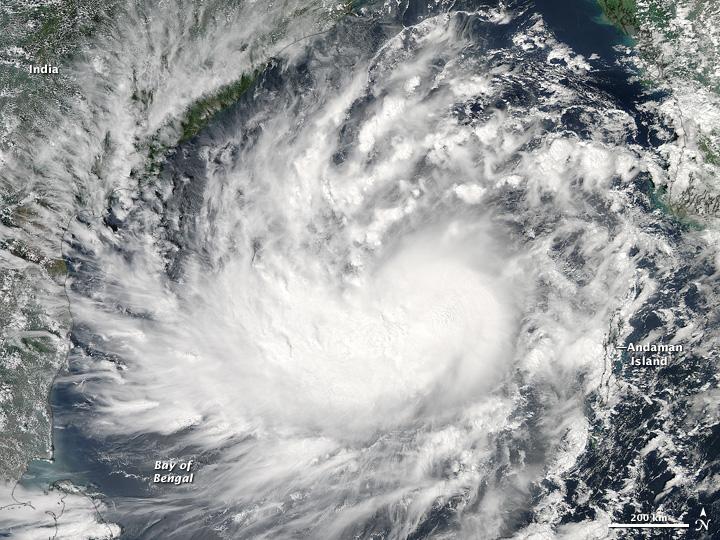 cyclone hudhud natural hazards