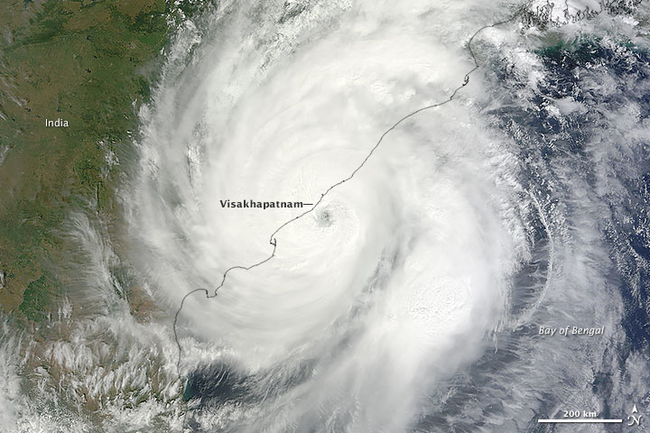 Hudhud: Another Damaging Bay of Bengal Storm