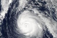 Hurricane Gonzalo Approaching Bermuda