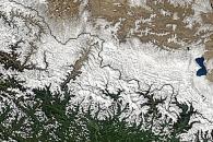 Blizzard in Nepal