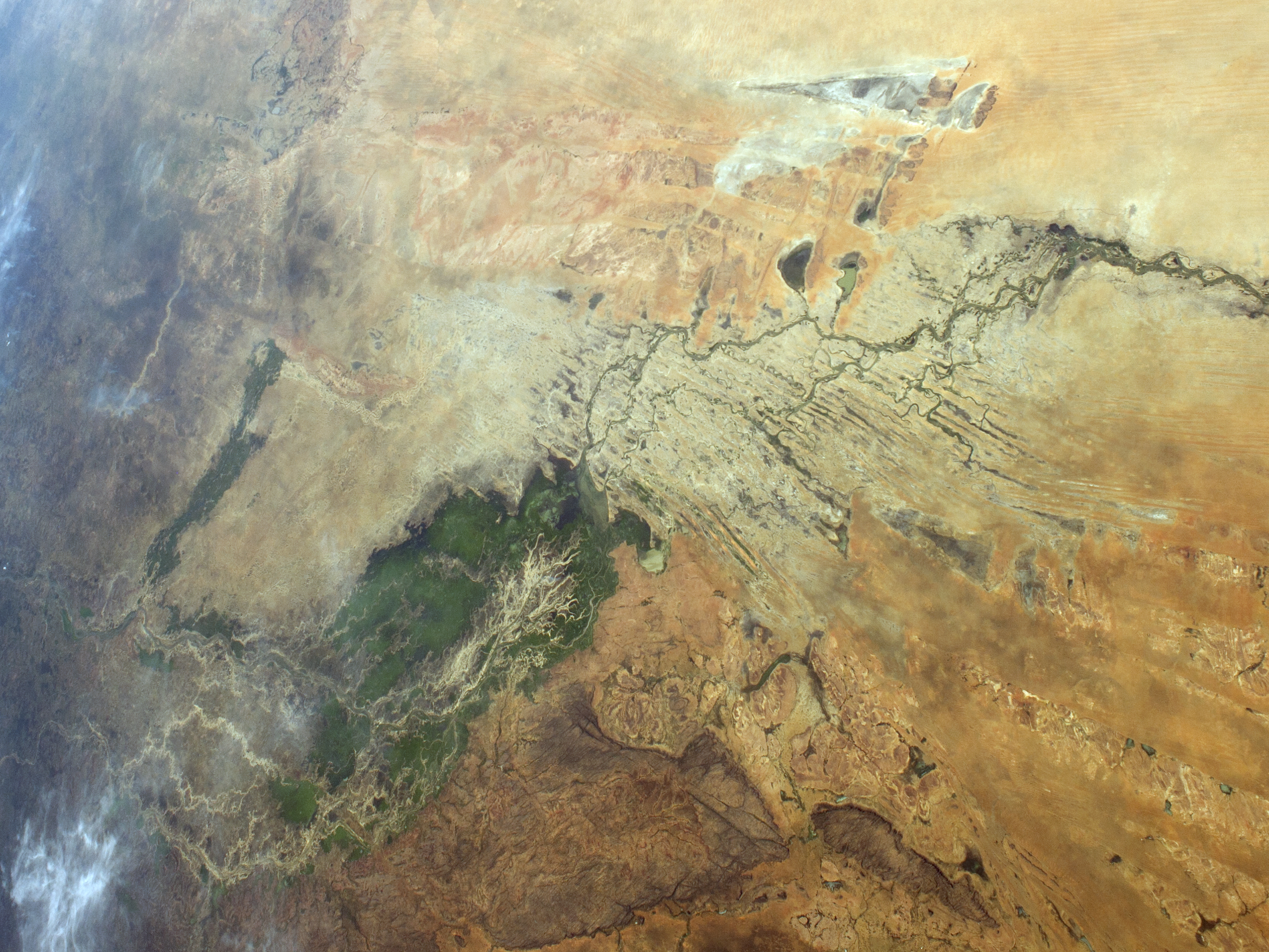 Inland Delta of the Niger RiverOkavango Basin
