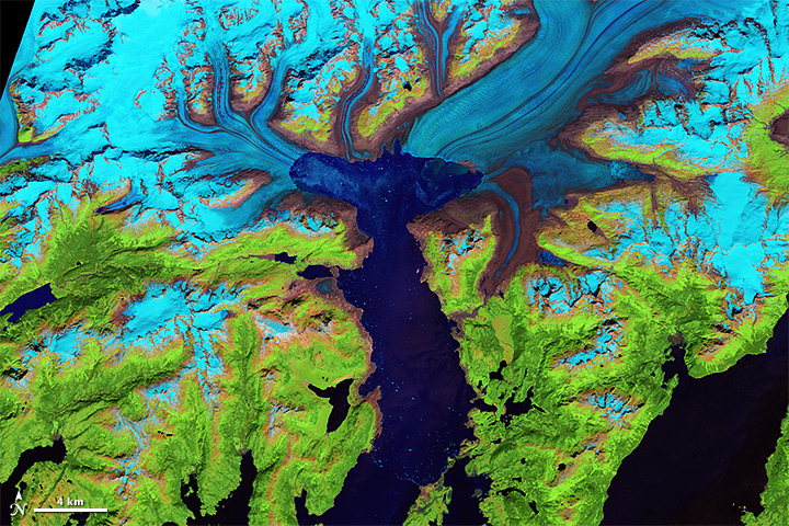 Retreat of the Columbia Glacier - related image preview