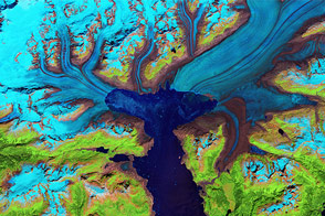 Retreat of the Columbia Glacier - selected image