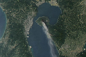 Activity at Sakura-jima Volcano - selected image