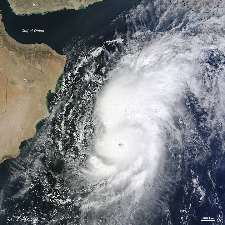 Cyclone Nilofar