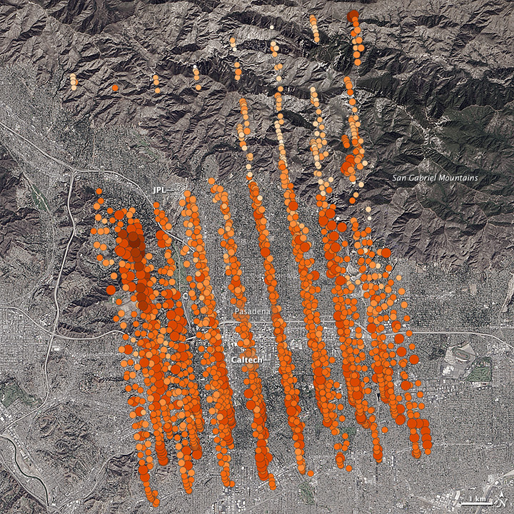 Counting Carbon Over Southern California
