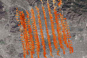 Counting Carbon Over Southern California - selected image