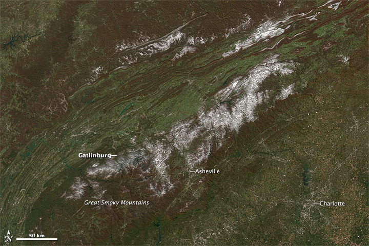 Early Snow on the Great Smokies