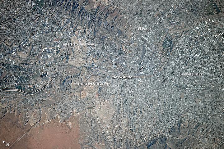 El Paso and Ciudad Juárez