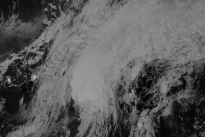 Storm Aimed for Aleutian Islands