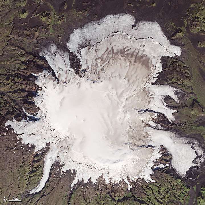 Mýrdalsjökull Then and Now